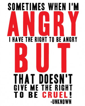How To Stop Lashing Out In Anger