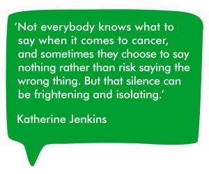 Katherine Jenkins Quote