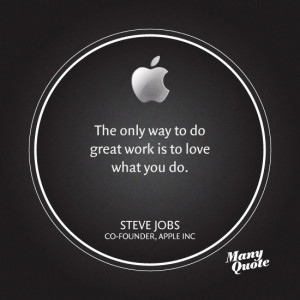 Inspiring quotes from Steve Jobs: