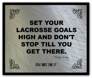 Lacrosse Poster and Quote #006
