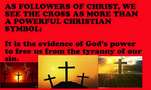 ... See the Cross as More than a Powerful Christian Symbol – Bible Quote