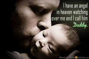 ... find a father in God unless he finds something of God in his father