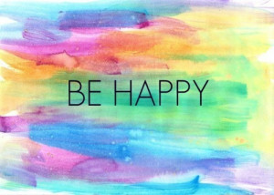 rainbow quote happy hippie hipster boho peaceful colorful bohemian ...