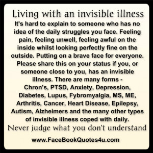 Living With Invisible Illness