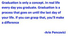 You are educated. Your certification is in your degree. You may think ...