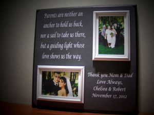 parents brides grooms grooms gift parents wedding gift wedding quotes ...