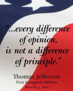 """every difference of opinion…"""""""