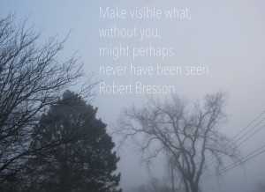 foggy morning on Black Street & a fantastic quote brought to me by The ...