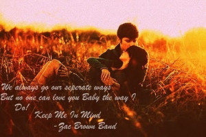 couple, cute, keep me in mind, quote, sunset, zac brown band