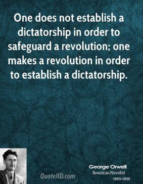 Dictatorship Quotes