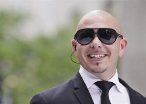 Singer Pitbull