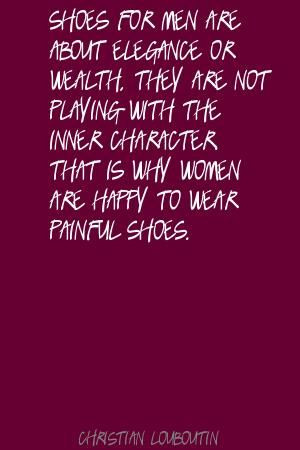 Christian Louboutin Quote