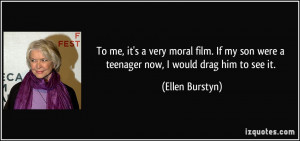 Ellen Burstyn Quote