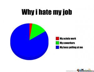 Why I Hate My Job