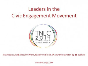 Quotes from Leaders in the Civic Engagement Movement