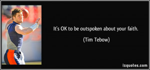 Tim Tebow Quotes About Faith More tim tebow quotes