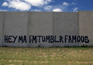 hey ma i'm tumblr famous graffiti spray paint art quotes artist ...
