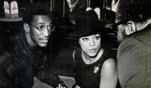 Hazel Scott chatting with Bill Cosby and James Moody (Yes, Moody's ...