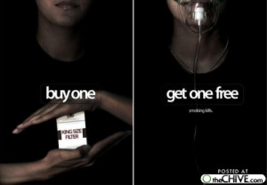 12 Smart Anti-smoking Ads
