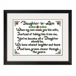 sayings about daughter in law