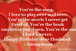Go Back > Gallery For > Husband Birthday Quotes