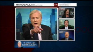 ... Matthews Browbeats Guest Who Doesn't Think Newt Gingrich Is Racist