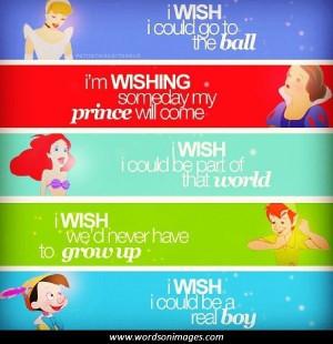 Famous disney movie quotes