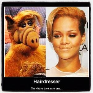 hair #funny #facebook #twitter #hairdresser #Rihanna #Alf ...