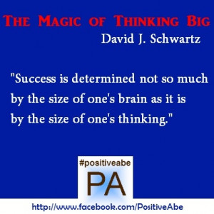 Click here to get The Magic of Thinking Big. Great gift for this ...