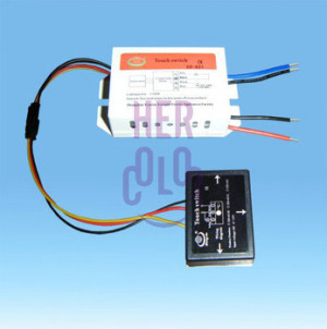 ... On/OFF Mirror Isolated Touch Switch For Energy Saving Lamp LED Light