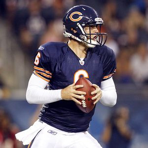 Jerry Lai/US Presswire Bears quarterback Jay Cutler was sacked five ...