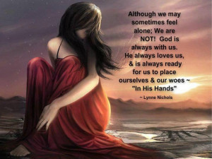 We are never alone ♥