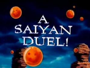 Goku vs. Vegeta... A Saiyan Duel!