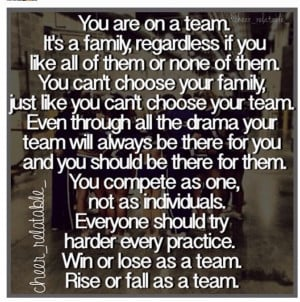Teamwork: Cheer Quotes, Sports Team Quotes, Cheerleading Quotes, Team ...