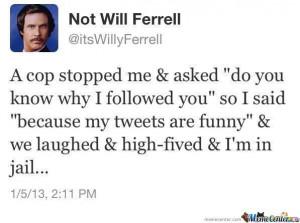 Will Ferrell Tweets Funny