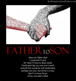 famous father to son quotes