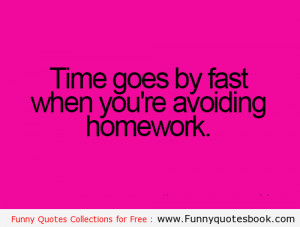 Funny Quotes about Home work