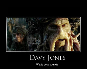 Davy Jones Pirate