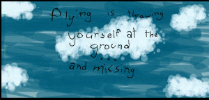 Flying quote by shadow7717