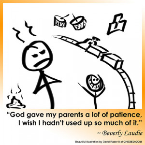 Patience Funny...