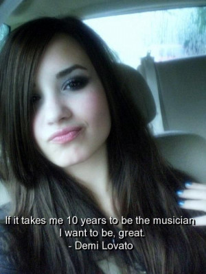 Demi lovato, quotes, sayings, about yourself, celebrity, singer
