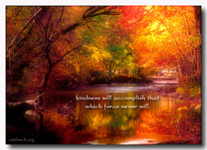 Kindness will accomplish – Inspirational quotes about kindness