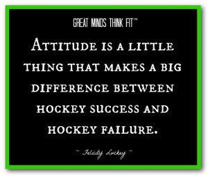 ... difference between hockey success and hockey failure felicity luckey