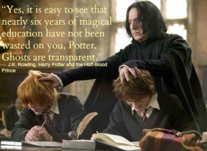Happy Birthday Professor Snape