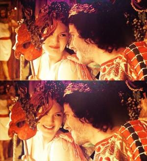 The Borgias. Cesare and Lucrezia Borgia