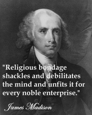 There's a lot of Founding Father worship from Christian conservatives ...