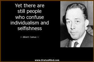 Famous Quotes For Selfish People