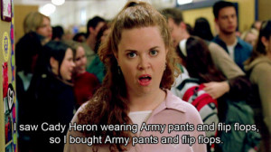 cady heron, funny, mean girls, movie, movie quote