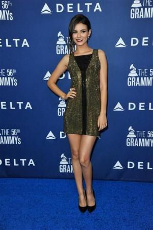 Victoria Justice (Delta Airlines kick-off Grammy weekend)