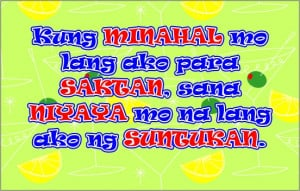 Pinoy/Tagalog picture quotes